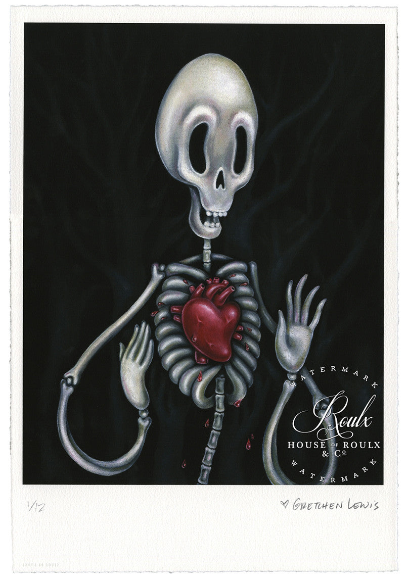"Gretchen Lewis ""Hollow Bones"" - Limited Edition, Archival Print"