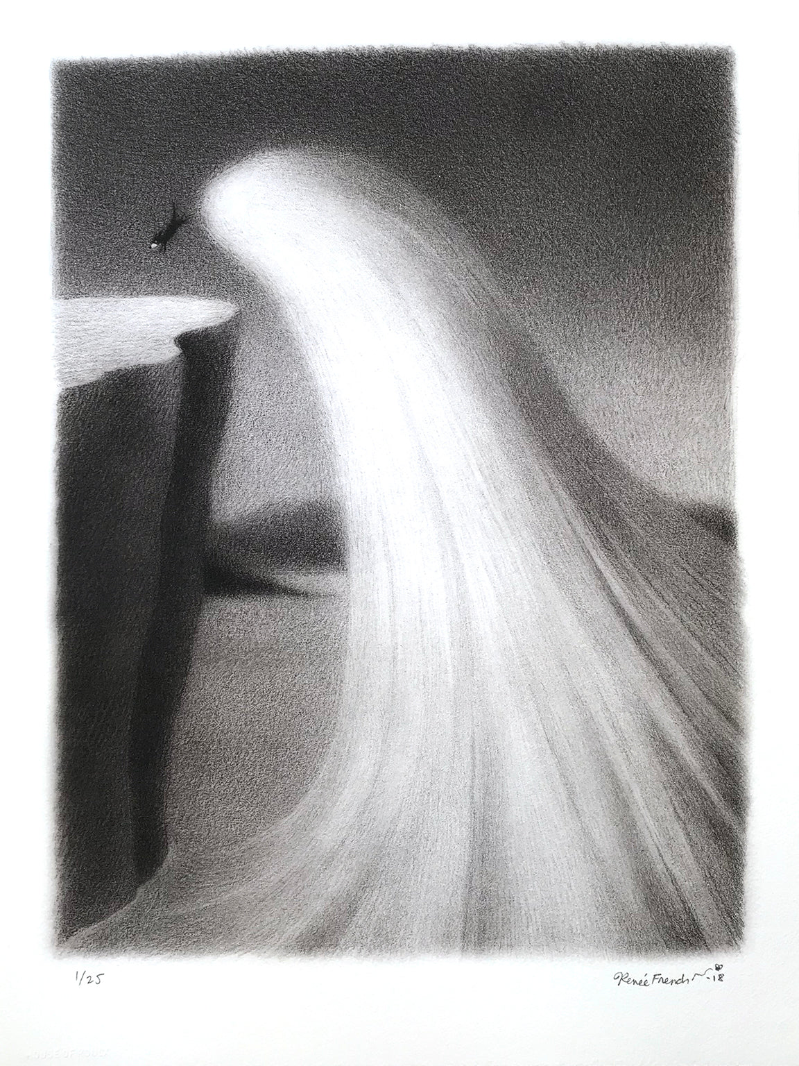 "Renee French ""Horatio's Wave"" - Archival Print, Edition of 25 - 12 x 16"""
