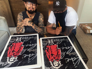 "Dave Navarro x Hektad x JCBKNYC ""Innocence Found"" - Limited Edition of 15 - 18 x 24"""