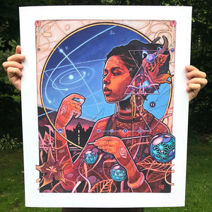 """The Navigator"" by Joshua Mays - Archival Print, Limited Edition of 27 - 20 x 24"""
