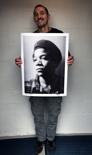 "Al Diaz ""SAMO©…4 THE MASSES…Jean-Michel Basquiat"" - Limited Edition, Archival Print - 18 x 24"""