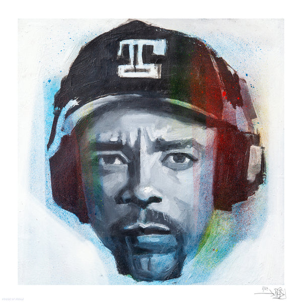 "Percy Fortini-Wright ""Ice-T"" - Archival Print, Limited Edition of 12 - 12 x 12"""