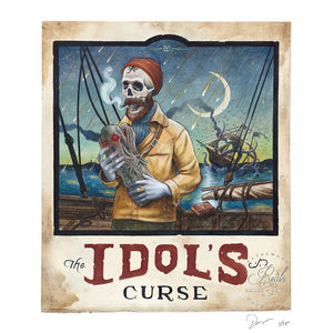 """The Idol's Curse"" by Derek Nobbs - Limited Edition, Archival Print"