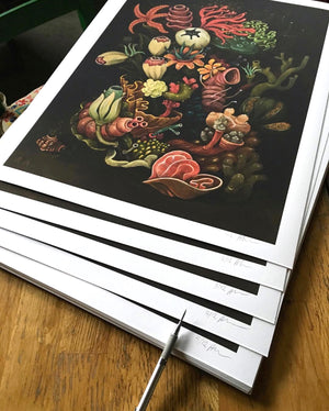 "Alex Kuno ""Offal"" - Archival Print, Limited Edition of 12 - 18 x 24"""