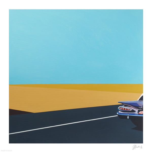 """Impala"" by Jessica Brilli - Archival Print, Limited Edition of 12 - 17 x 17"""