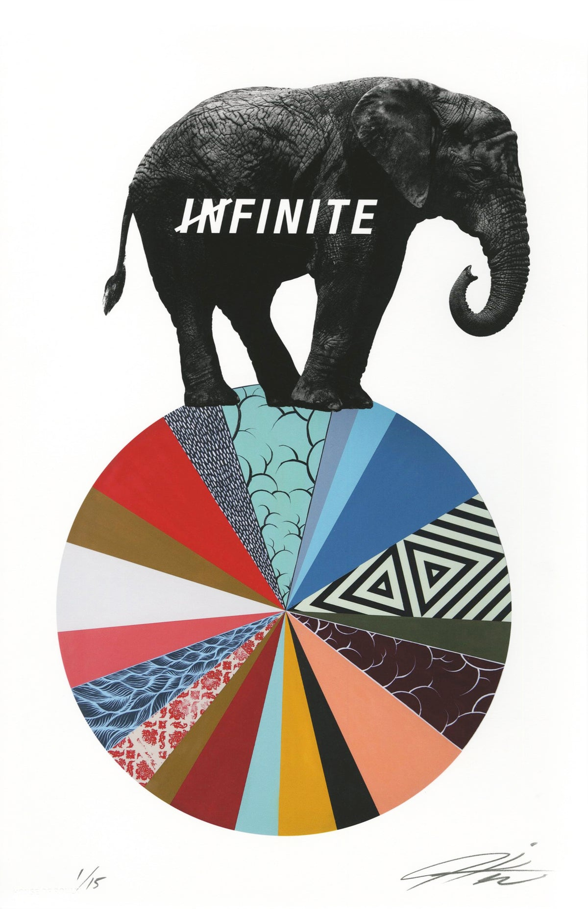 "Jeremiah Kille ""Infinite"" - Archival Print, Limited Edition of 15 - 11 x 17"""