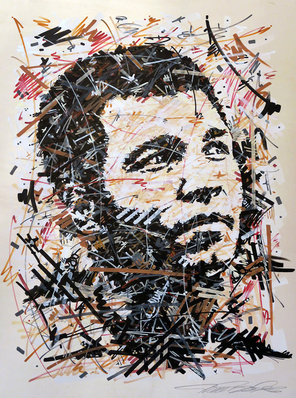 """Ali - The People's Champ"" by Ivan Beslic - Original Acrylic on Wood"