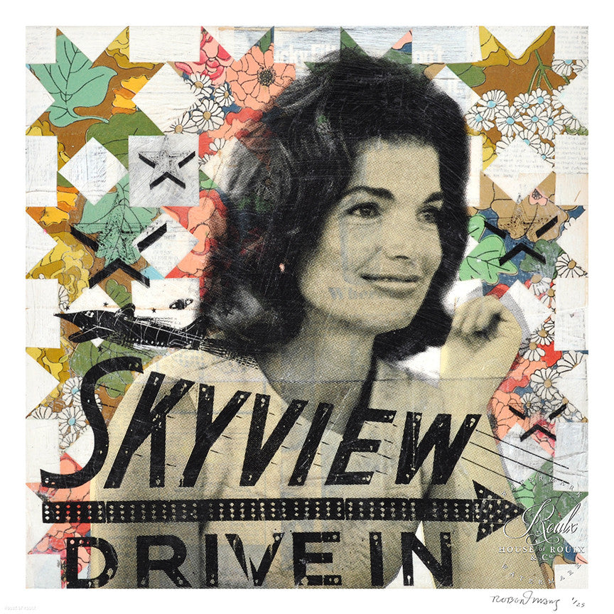 "Robert Mars ""Jackie's Skyview Drive In"" - Limited Edition, Archival Print"