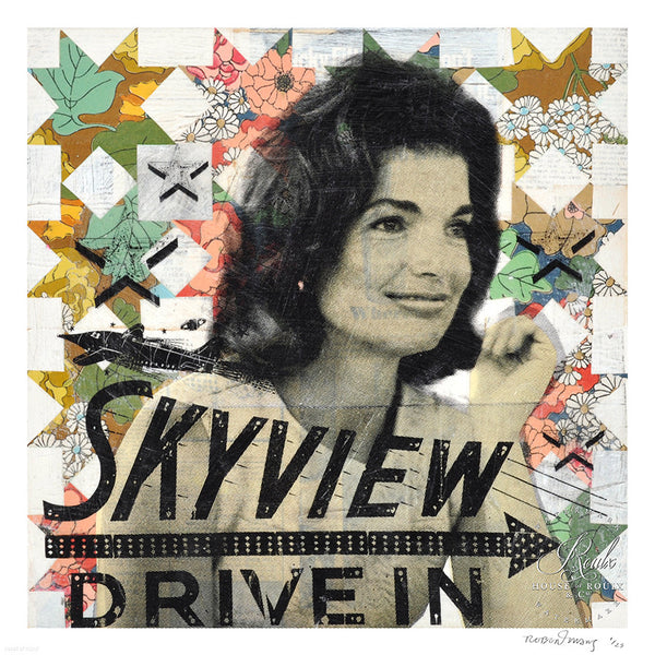 """Jackie's Skyview Drive In"" by Robert Mars - Limited Edition, Archival Print"