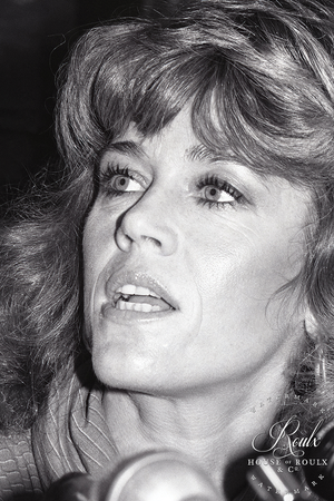 Jane Fonda (by Peter Warrack) - Limited Edition, Archival Print