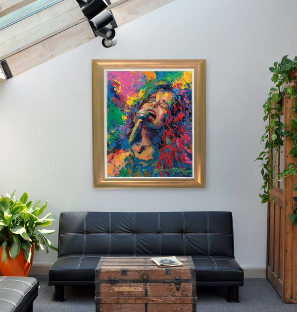 "Janis Joplin ""Her Final Performance"" (by Jace McTier) - Limited Edition, Archival Print"