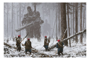 """January 1863"" by Jakub 'Mr. Werewolf' Rozalski - Fine Art Print"