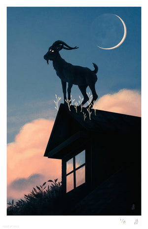 """Suburban Witchcraft"" by Jenna Barton - Archival Print, Limited Edition of 15 - 11 x 17"""