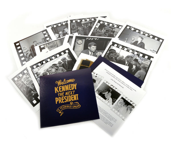 John F. Kennedy Photograph Folio Set - 12 Limited Edition, Archival Prints