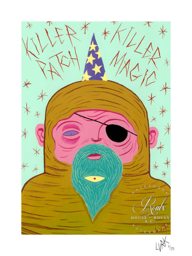 "LURK ""Killer Patch"" - Limited Edition, Archival Print"