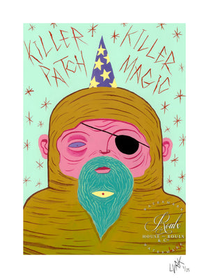 """Killer Patch"" by LURK - Limited Edition, Archival Print"