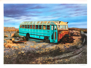 "Jessica Hess ""Last Stop"" - Archival Print, Limited Edition of 25 - 18 x 24"""