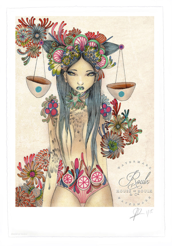 """Libra"" by Olivia Rose - Limited Edition, Archival Print - 13 x 19"