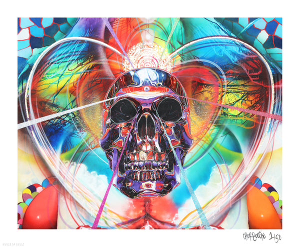 "Chor Boogie ""For the Love of Life and Death"" - Archival Print, Limited Edition of 50 - 14 x 17"""