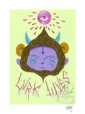 """Lurk Lives"" by LURK - Limited Edition, Archival Print"