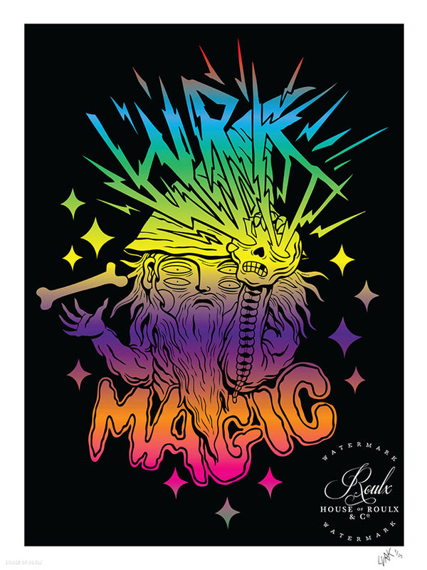 """Lurk Magic"" by LURK - Limited Edition, Archival Print"
