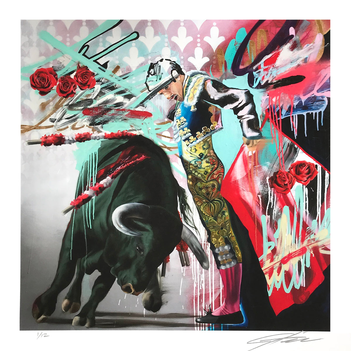 "Jeremiah Kille ""The Matador"" - Archival Print, Limited Edition of 12 - 17 x 17"""