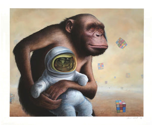 "Chris Leib ""Mind Field"" - Archival Print, Limited Edition of 15 - 14 x 17"""