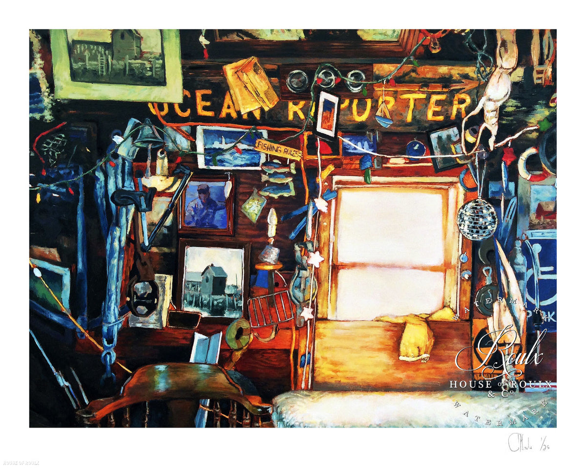 "Andrew Houle ""Motif Number 1 (Interior) - Rockport, MA"" - Limited Edition, Archival Print"