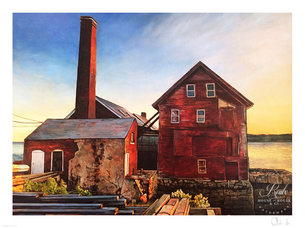"""The Paint Factory - Gloucester, MA"" by Andrew Houle - Limited Edition, Archival Print"