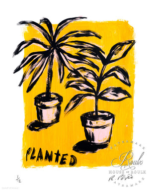 """Planted"" by Russ Pope - Limited Edition, Archival Print"