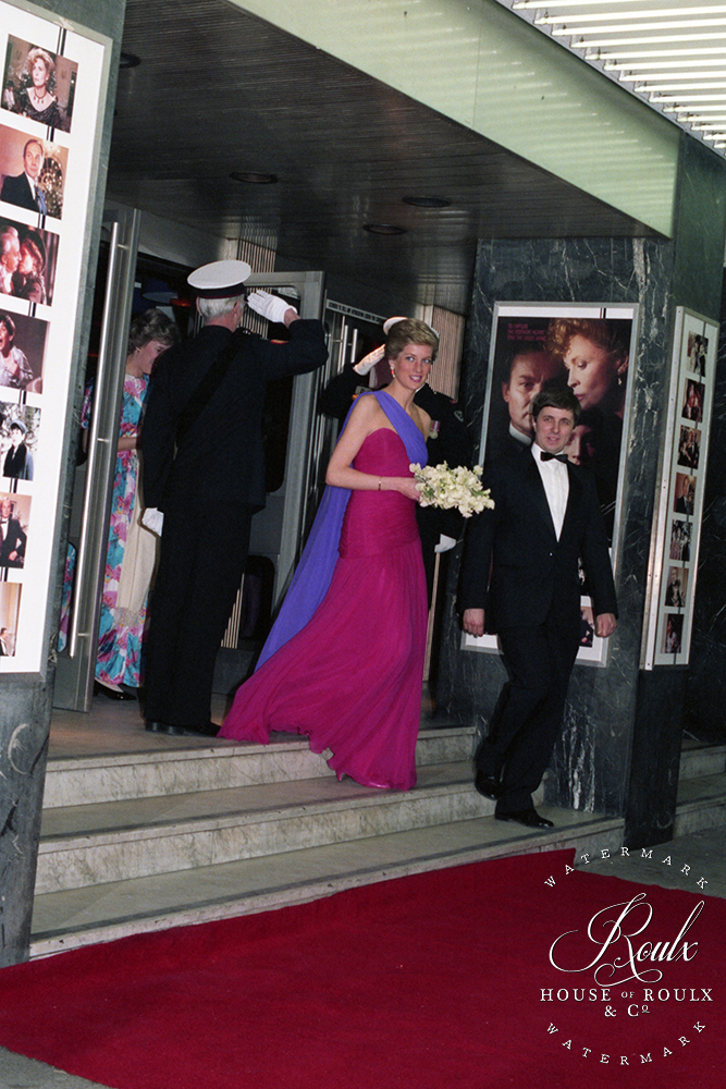Princess Diana (by Peter Warrack) - Limited Edition, Archival Print