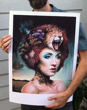 """Natura"" by Scott Scheidly - Limited Edition, Archival Print - 18 x 24"""