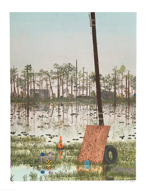 "Max Seckel ""Quiet Morning"" - Archival Print, Limited Edition of 15 - 13 x 17"""