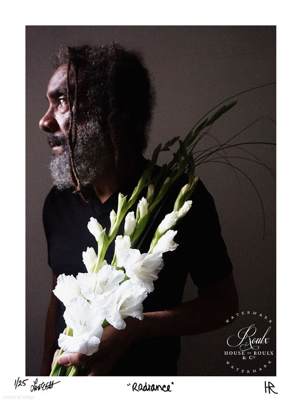 "H.R. (of Bad Brains) - ""Radiance"" by Lori Carns Hudson - Limited Edition, Archival Print"