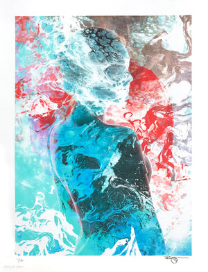 "Barrett Biggers ""Rising Tides"" - Archival Print, Limited Edition of 12 - 13 x 17"""