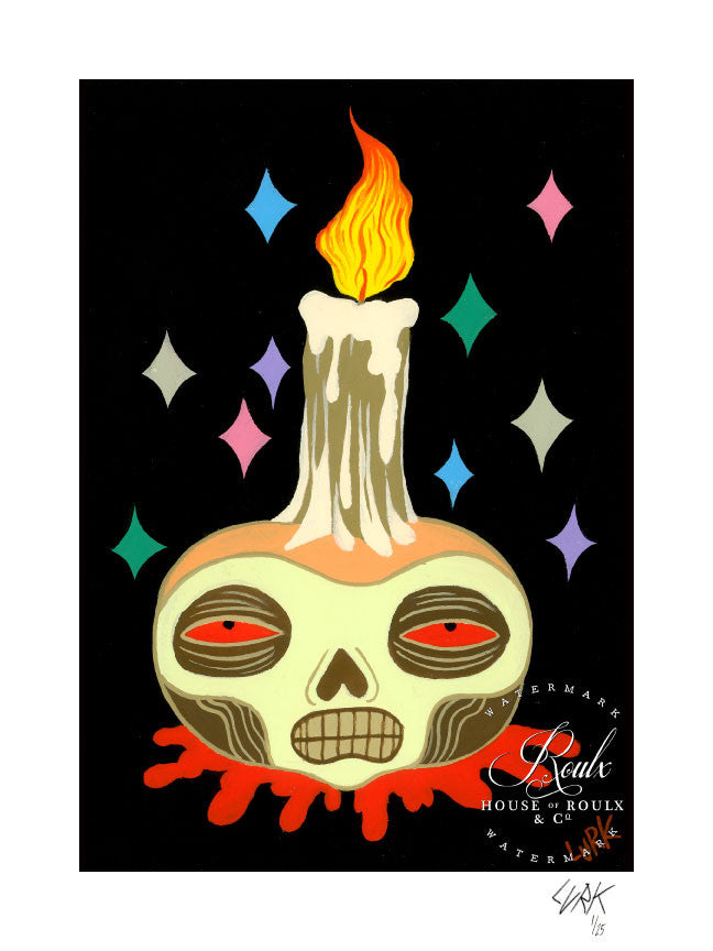 "LURK ""Ritual Item"" - Limited Edition, Archival Print"