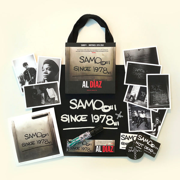 "Al Diaz ""SAMO©…SINCE 1978..."" - Deluxe Artist's Edition Book & Print Set"