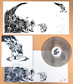 """Torch Song"" by STL GLD - Signed Print and Vinyl Album Bundle"