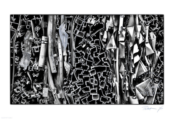 """Scrap Heap"" by Red-Raven - Limited Edition, Archival Print"