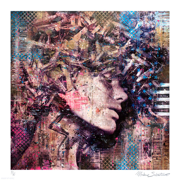 """She II"" by Markus Sebastiano - Limited Edition, Archival Print - 17 x 17"""