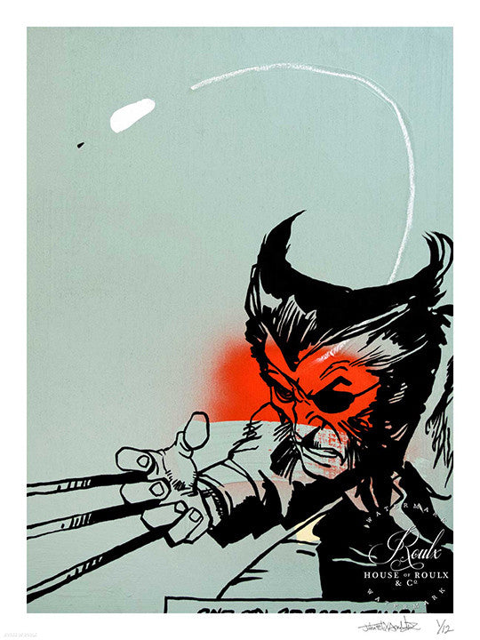 """Snikt!"" by John Felix Arnold III - Limited Edition, Archival Print"