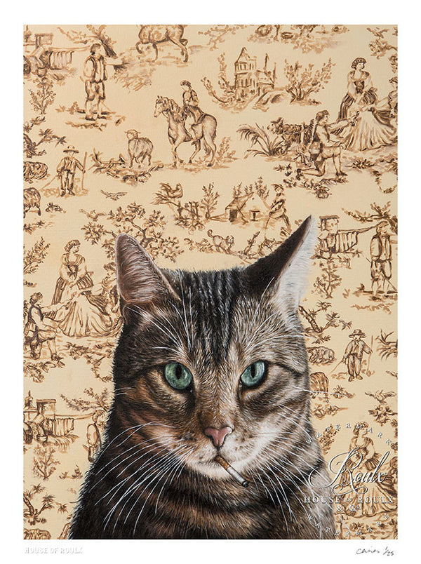 """Chat du Marseille"" by Michael Caines - Limited Edition, Archival Print"