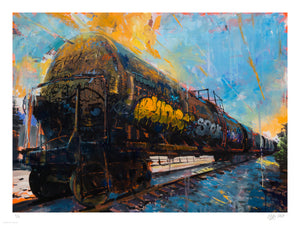 "Adam J. O'Day ""Oil Tanker 2"" - Archival Print, Limited Edition of 12 - 18 x 24"""