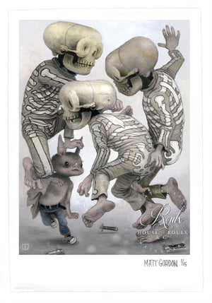 """The Rowdies"" by Matt Gordon - Limited Edition, Archival Print"