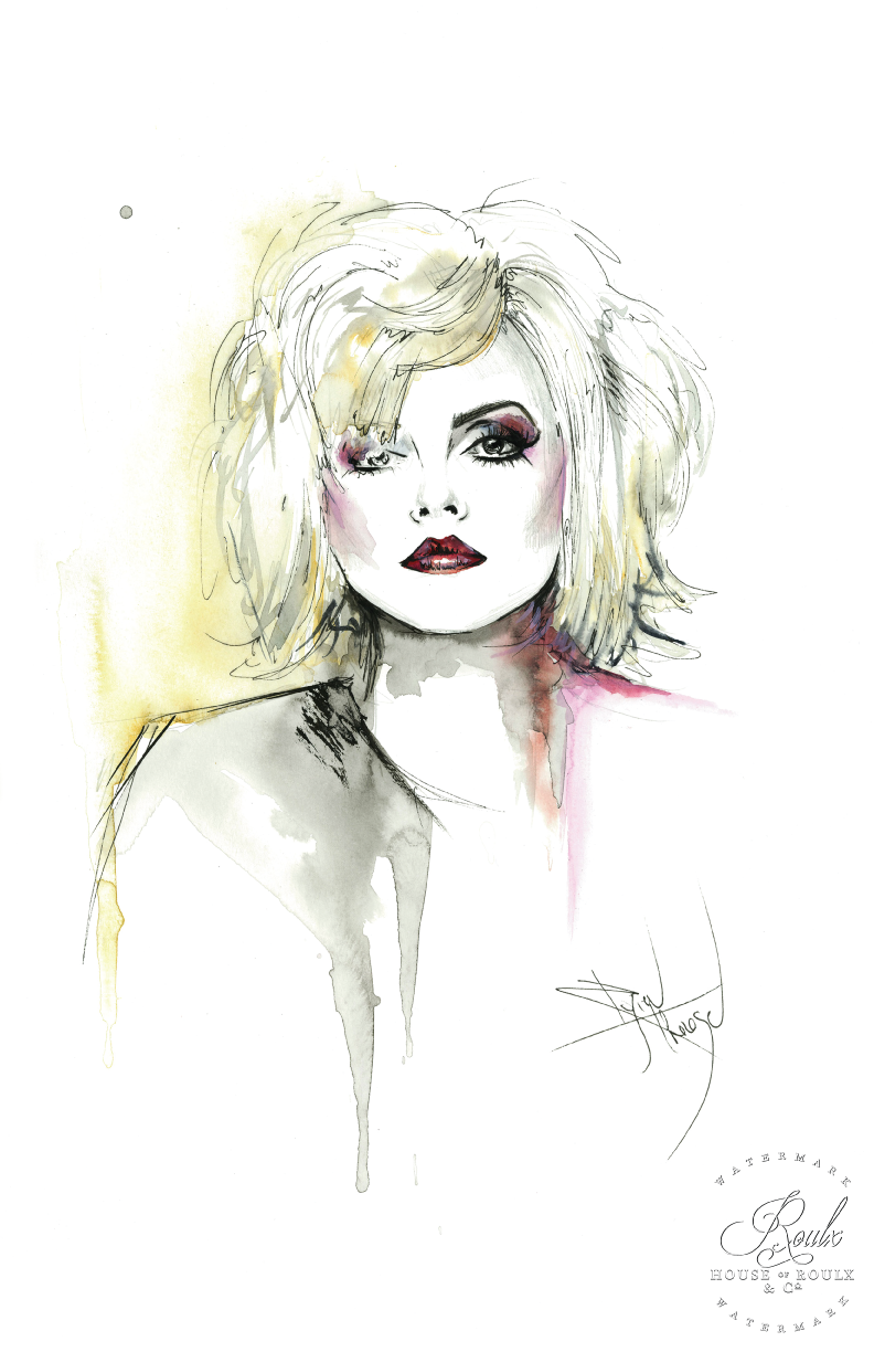 "Therése Rosier ""Debbie Harry of Blondie"" - Limited Edition, Fine Art Print"