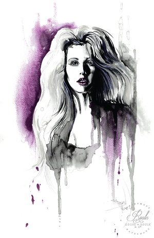 """Ellie Goulding"" by Therése Rosier - Limited Edition, Fine Art Print"