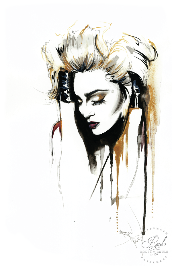 """Madonna"" by Therése Rosier - Limited Edition, Fine Art Print"