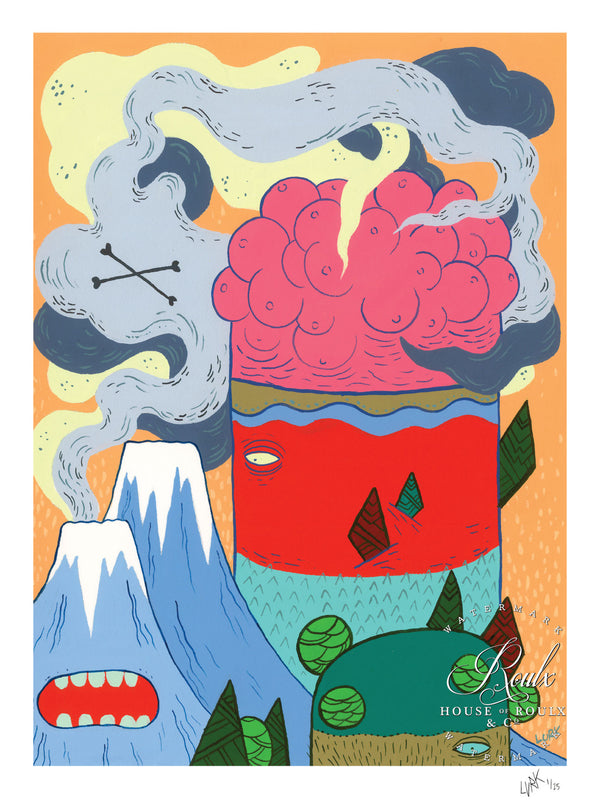 """Tittie Mountain"" by LURK - Limited Edition, Archival Print"