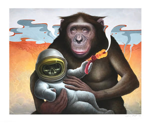 "Chris Leib ""Trinity"" - Archival Print, Limited Edition of 15 - 14 x 17"""