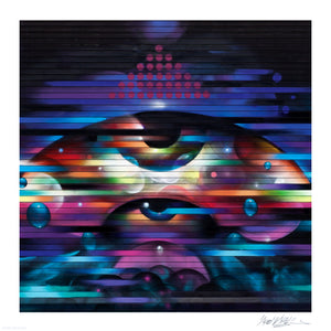 """Rapid Eye Movement"" by Vyal One - Limited Edition, Archival Print - 17 x 17"""